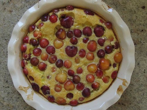 Clafoutis finished